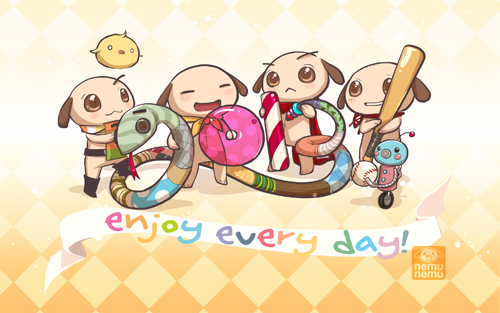 cute digital downloads 2013 chinese new year wallpaper nemu shop